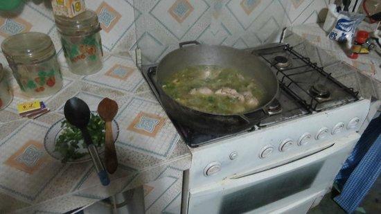 Granja San Judas Tadeo: We made a delicious Sancocho de Gallina!