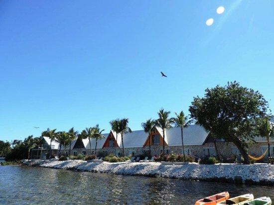 Ibis Bay Beach Resort: Vista dos quartos de frente para o mar.
