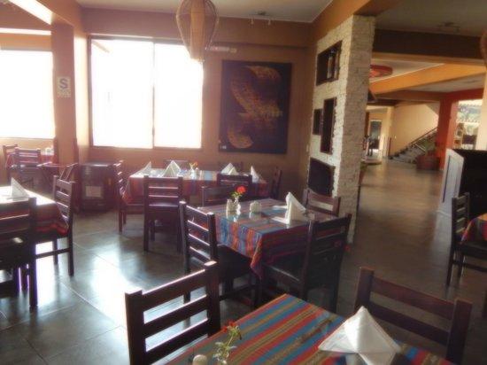 Wyndham Cusco Saqsayhuaman: Area de estar/comedor