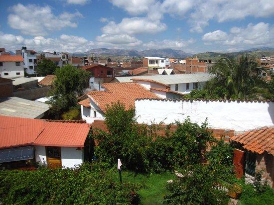 # Pachamama Hostel: 三階廊下からの景色