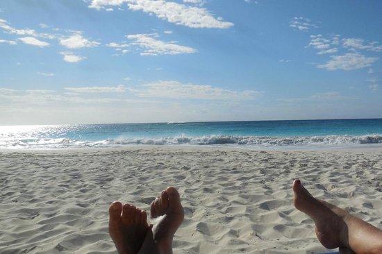 Sol Cayo Largo: Bord de mer face plage naturiste
