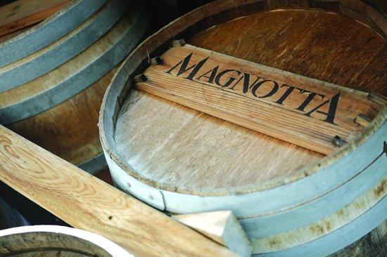 Magnotta Winery Barrels