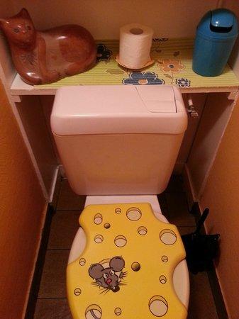 Le Chat Gourmand : même les toilettes sont décorées