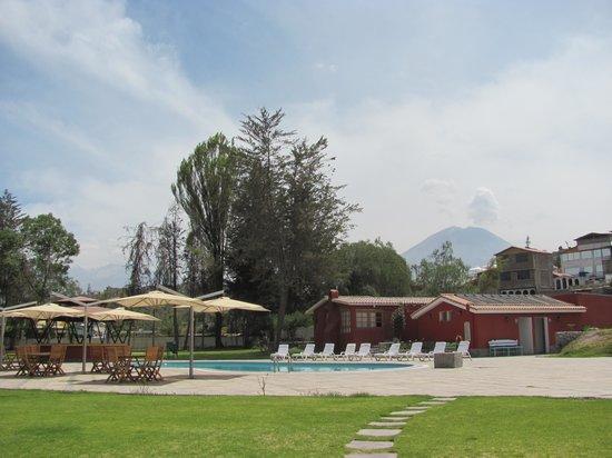 Hotel El Lago Estelar: Vista desde el restaurante