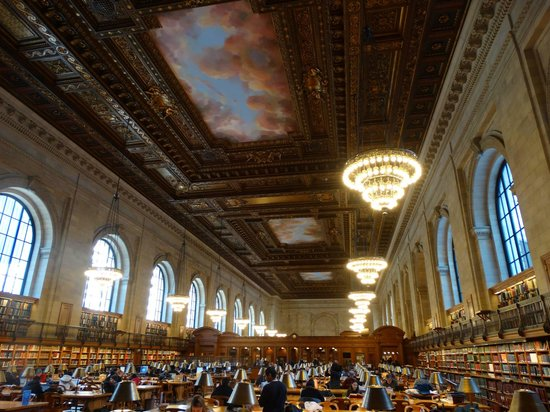 New York Public Library : salão principal.