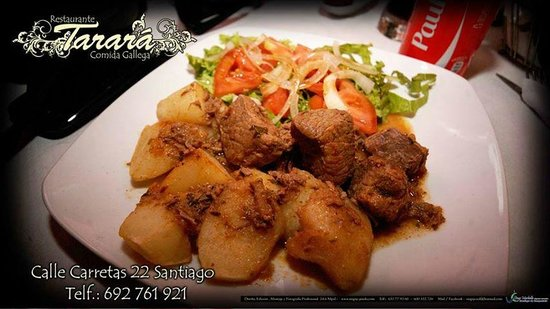 Restaurante Tarará: Comida casera
