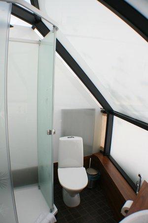Golden Crown Levi Igloos: bathroom