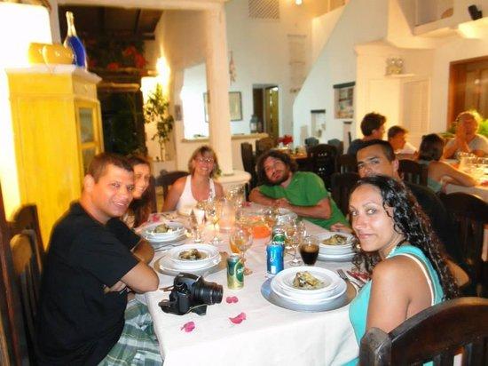 Posada Guaripete: Cenando!