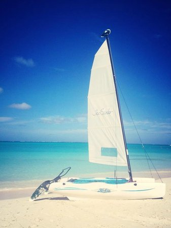 The Sands at Grace Bay: The sands sailing boat