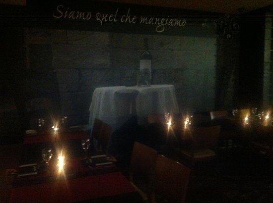 La Fontana trattoria : La noche de San Valentín