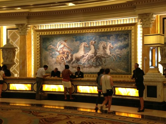 Caesars Palace : Lobby...as seen in The Hangover