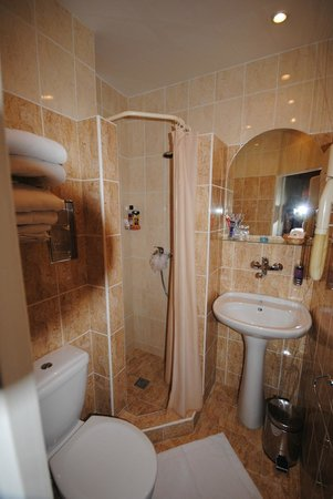 Hotel Kampa-Stara Zbrojnice: ванная комната