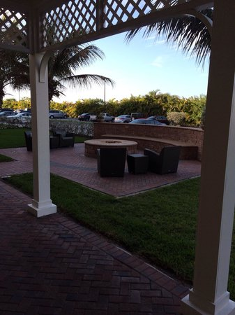 Residence Inn Cape Canaveral Cocoa Beach : Nice view