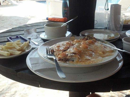 Hotel Porton del Sol: Almuerzo