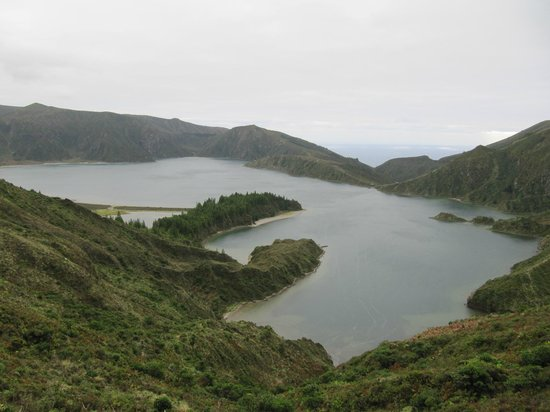 Lagoa Azul, Sao Miguel Acores : озеро