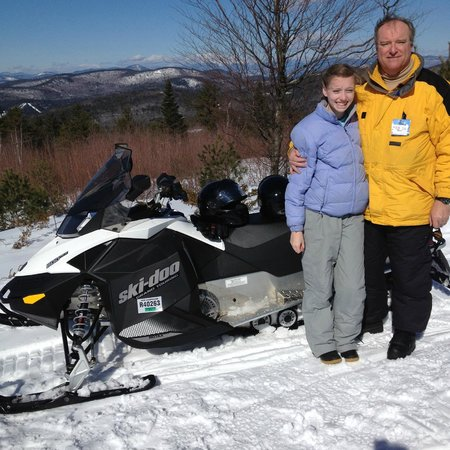 Sweet Ride Snowmobiles: Gwen & Bill at The Chimney