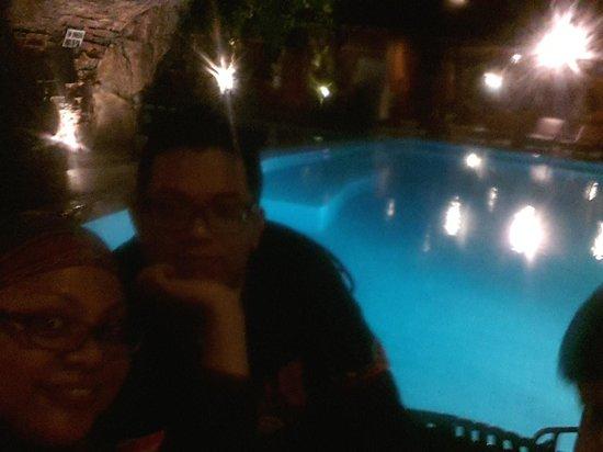 Wina Holiday Villa Hotel: Our romantic dinner