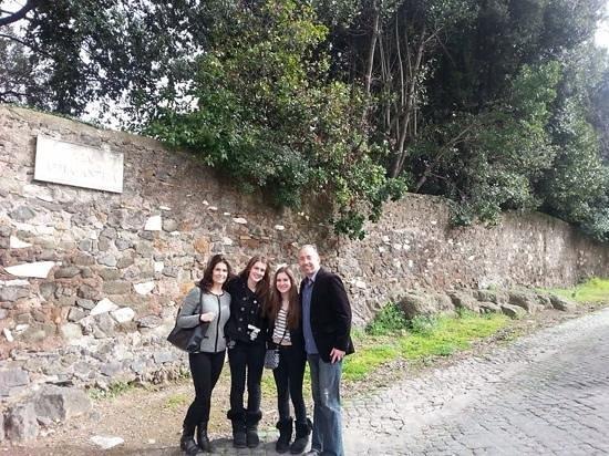 Italy Rome Tour: Via Appia Antica on our 8-hour tour.