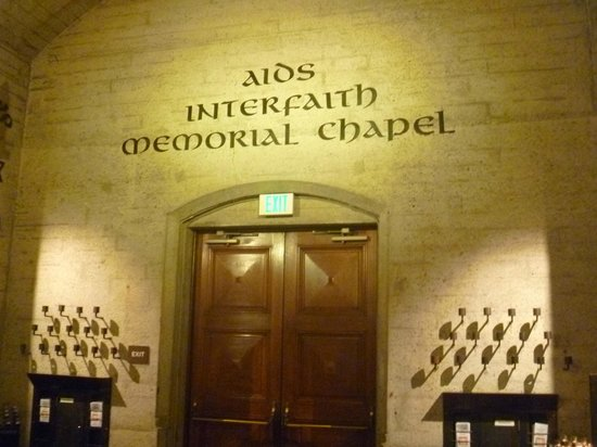 Grace Cathedral: Interfaith AIDS Memorial Chapel