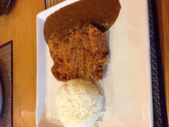 Red Snapper: Pork cutlet with rice