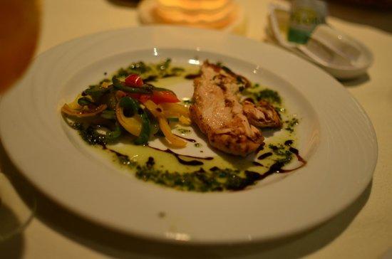 Hilton Hurghada Plaza: Вкуснятинка от шеф-повара (итальянский ресторан)