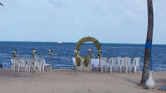 Decameron Marazul: La playa