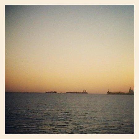 Ponta de Humaita: por do sol
