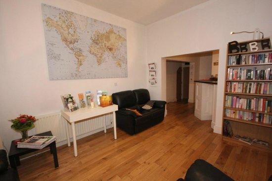 Belfast City Backpacker Hostel: Lounge
