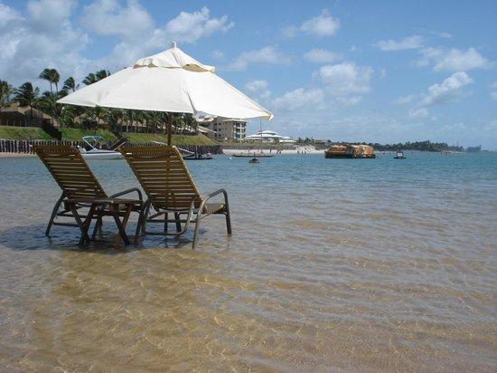Nannai Resort & Spa: Serviço de praia