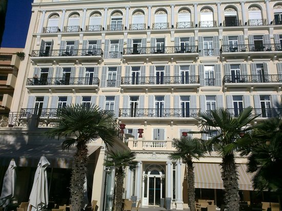 Hôtel Royal Westminster : La facciata mare del Royal
