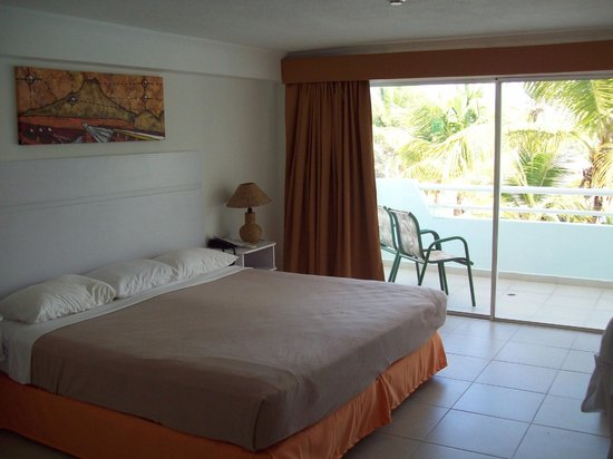 Isla Caribe Beach Hotel : habitacion