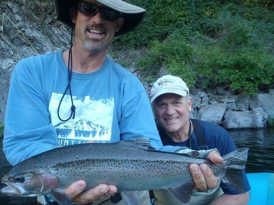 Jack Trout Fly Fishing: Sizzler on the Upper Sac