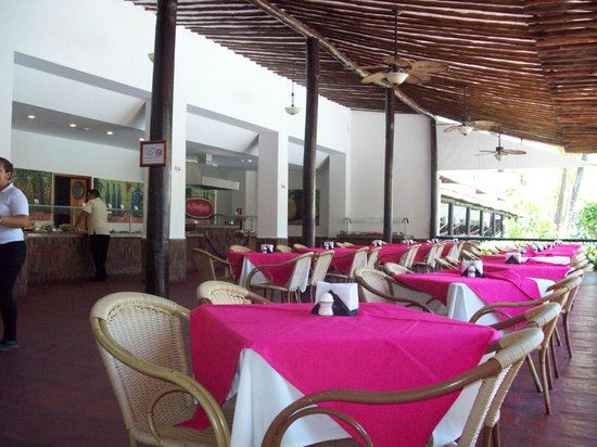 Isla Caribe Beach Hotel : restaurant y desayunador