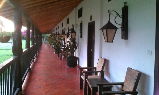 Bosques Del Saman - Alcala: in front of the rooms