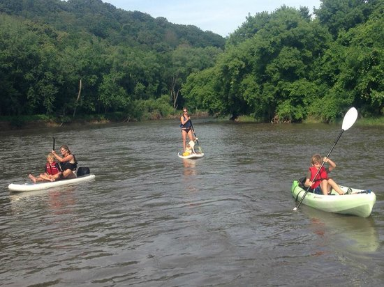 BentRiver Outfitter : Family Day on the river
