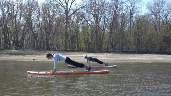 BentRiver Outfitter : SUP Yoga