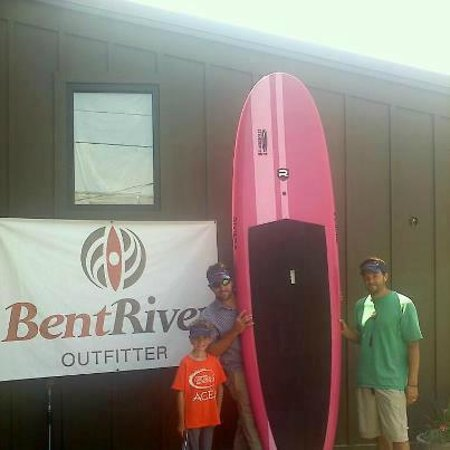 BentRiver Outfitter : Pink SUP