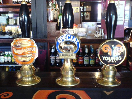 White Hart: Real ales