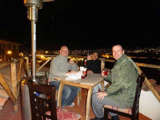 Rumi Wasi: At the terrace of Rumiwasi htl