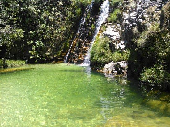 Capitólio, MG: Cachoeira agua mais que limpa...