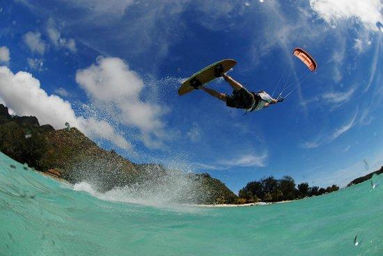 Lakana Fly : saut