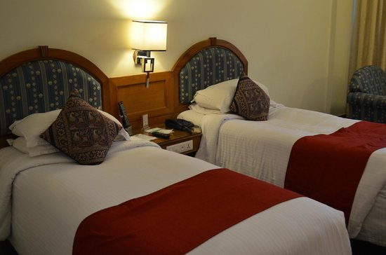 Hotel Sandesh The Prince: Twin bedroom