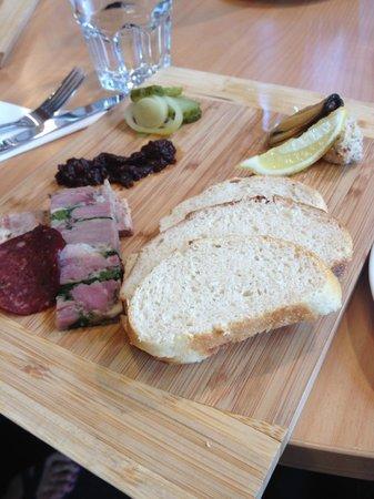Zest Food Tours of New Zealand: Karaka food plate