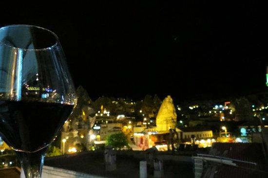 Manzara Restaurant : Nada melhor que um bom vinho e um lugar maravilhoso!