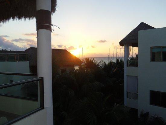 El Dorado Maroma, a Beachfront Resort, by Karisma : View from balcony