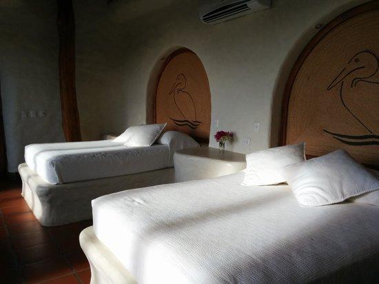 Pelican Eyes Resort & Spa: Our room