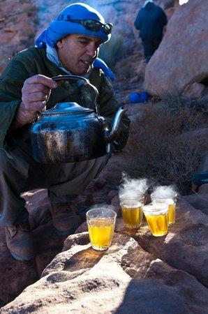 Wadi Rum Natural Wonder: tea in the desert