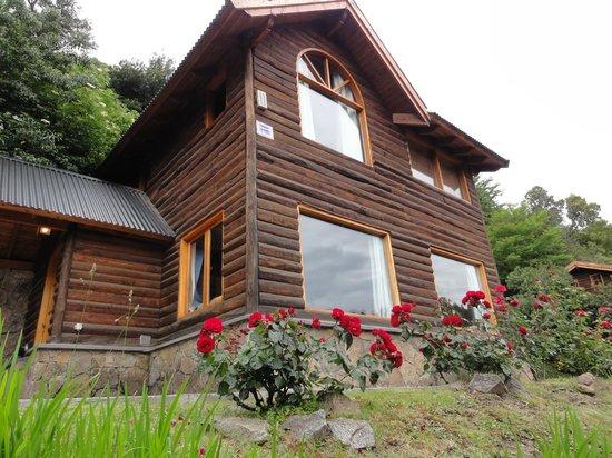 Cabanas Aba Salomon : Frente de la Cabaña