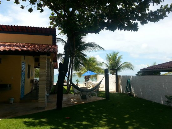 Pousada Santo Aleixo: Área praia