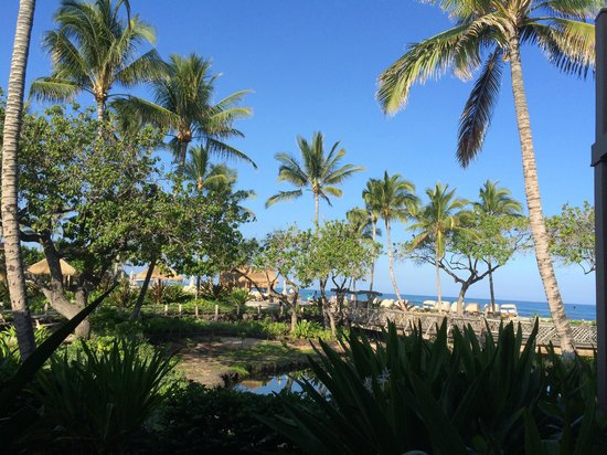 Four Seasons Resort Hualalai: View from our lanai